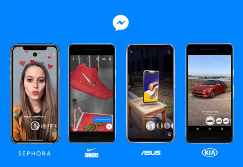 Facebook Messenger AR