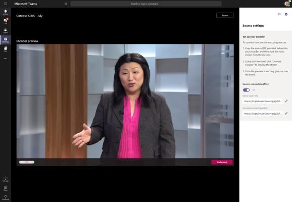 Microsoft 365 live event